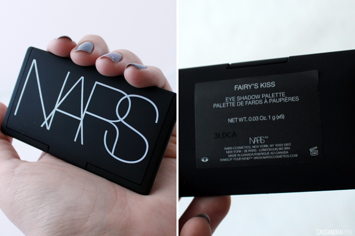 NARS // Fairy's Kiss Eyeshadow Palette - Review + Swatches - cassandramyee