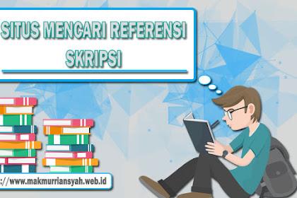 Situs Mencari Referensi Skripsi