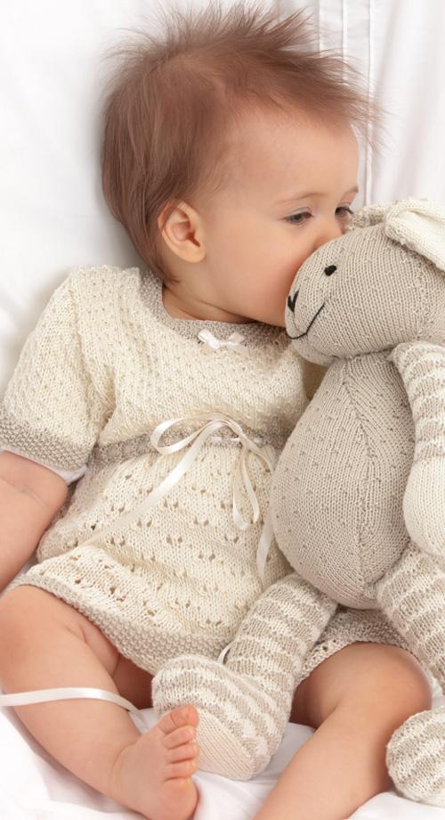 Baby Lace Dress - Free Pattern