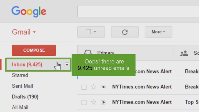 Mark a Gmail Message As Read Without Opening the Message Window