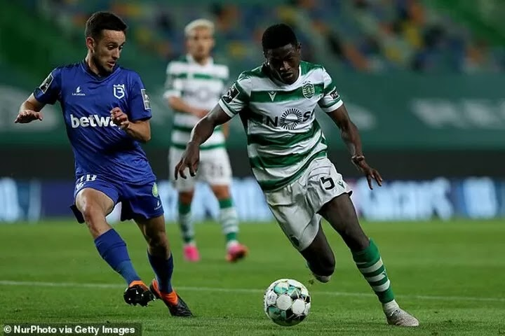 """Manchester City 'keen on landing """"star of the future"""" Nuno Mendes but balk at £43m price tag'"""