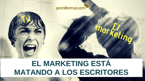 marketing para escritores te está matando