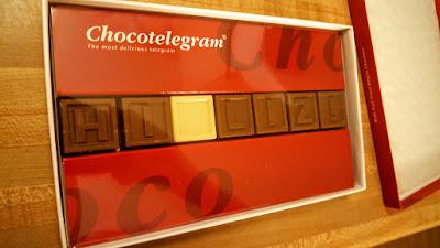 Chocotelegram chocolate mail