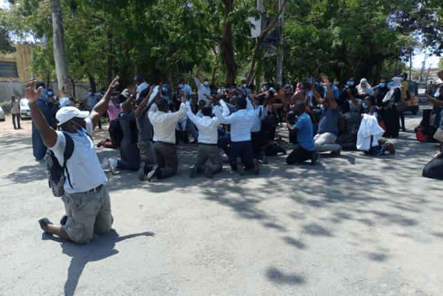 Mombasa County health workers photo