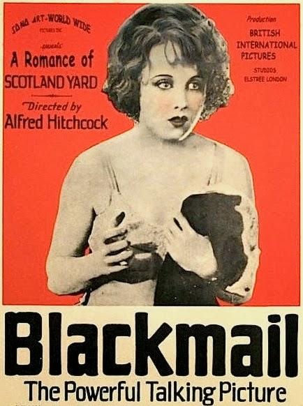 Εκβιασμός του Άλφρεντ Χίτσκοκ, αφίσα του έργου