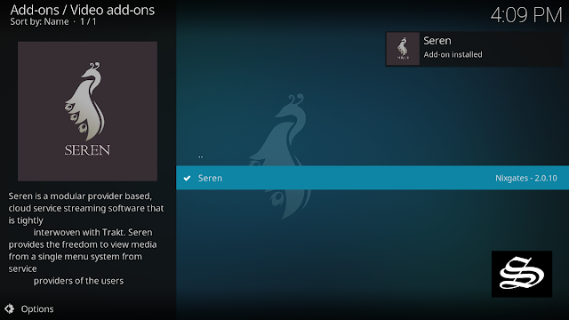 Seren-kodi-addon-set-up