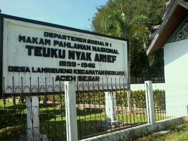 Makam Teuku Nyak Arief (Foto: detik.com)