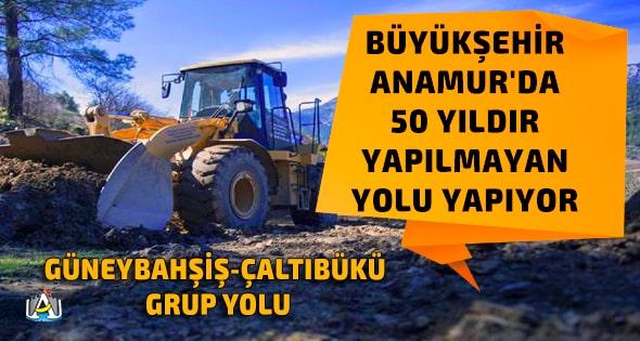 Mersin Büyükşehir Belediyesi,Vahap Seçer,Anamur,Anamur Haber,Anamur Son Dakika,Güneybahşiş,Akine