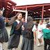 Hijos de los comerciantes se recrean en  la plaza de mercado de Facatativá