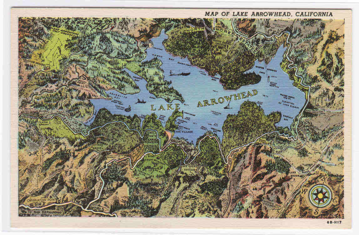 My Life In Postcards Roadside America Linen Postcards