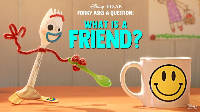 Forky Asks a Question - What is a Friend