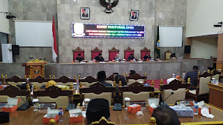 DPRD Kabupaten Cirebon Rapat Paripurna RAPBD Dan RPJMD