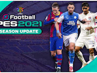 HANYA 683MB!! PES 2021 PPSSPP Special EFL Team Edition Graphics Real Face & Update Final Winter Transfer
