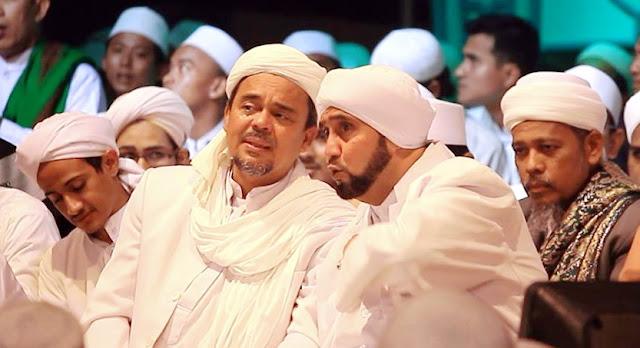 Rabithah Alawiyah: Habib Rizieq Keturunan Nabi Muhammad ke-39