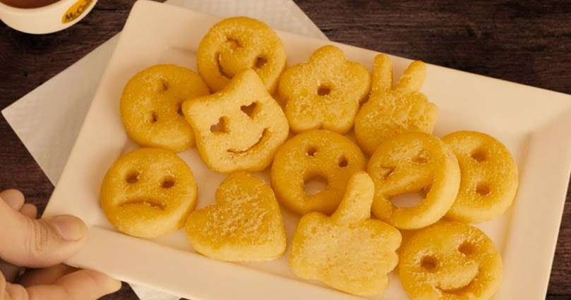 Smiley Face Fries Fast Food