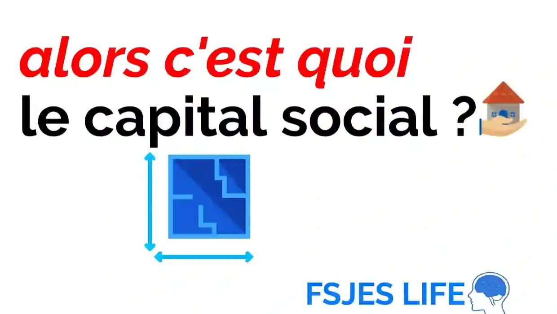 C'est quoi le capital social