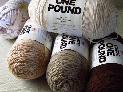 yarn, Caron One Pound, Bernat Baby Blanket, crochet