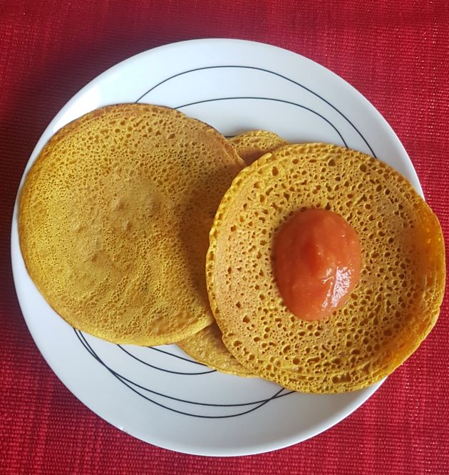 gramflour pancake