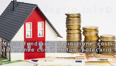 mutuo fondiario definizione