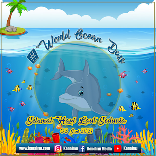 poster hari laut sedunia psd - kanalmu