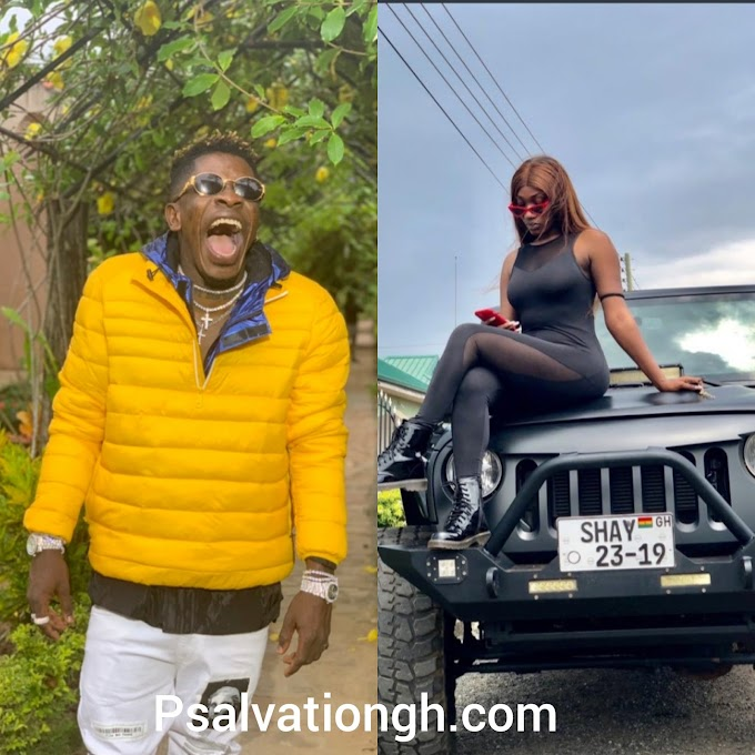 Shatta Wale Congratulates Wendy Shay For Her Newly Bought Jeep Wrangler