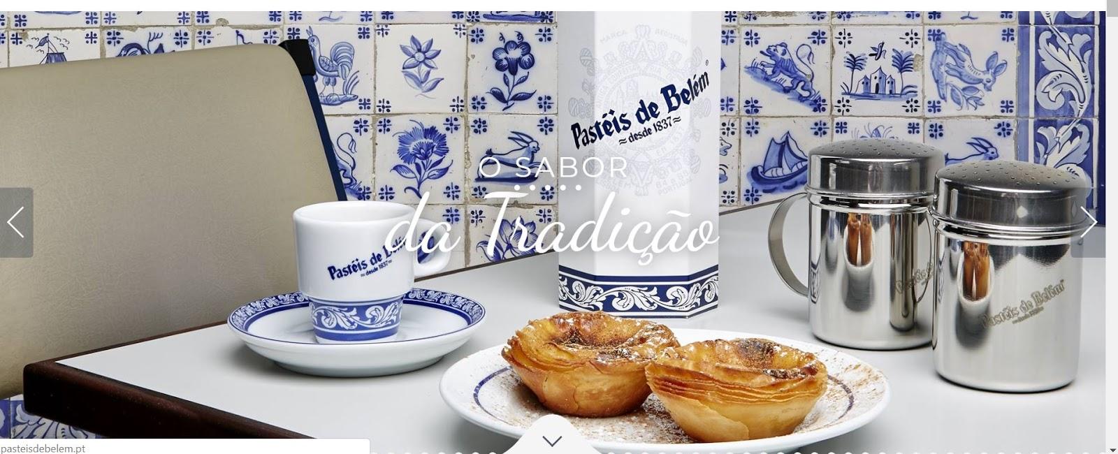 A historia do Pastel de Belém de Portugal