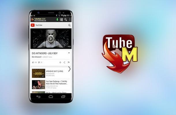Tubemate أفضل تطبيق تحميل من اليوتيوب مجانا