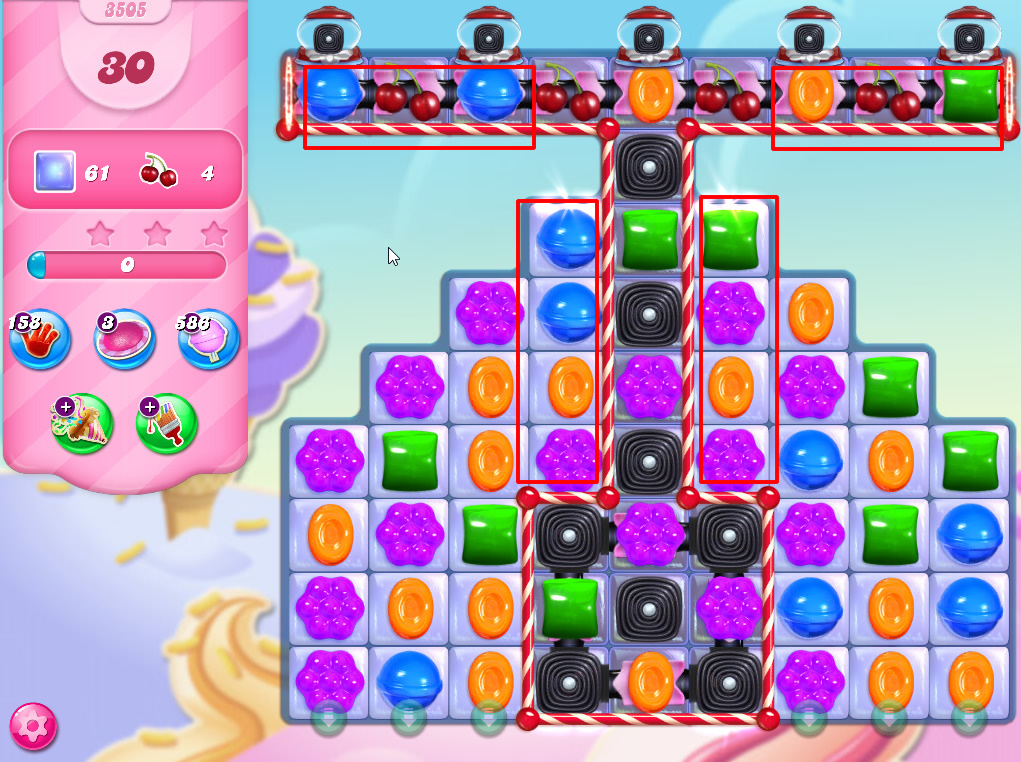 Candy Crush Saga level 3505