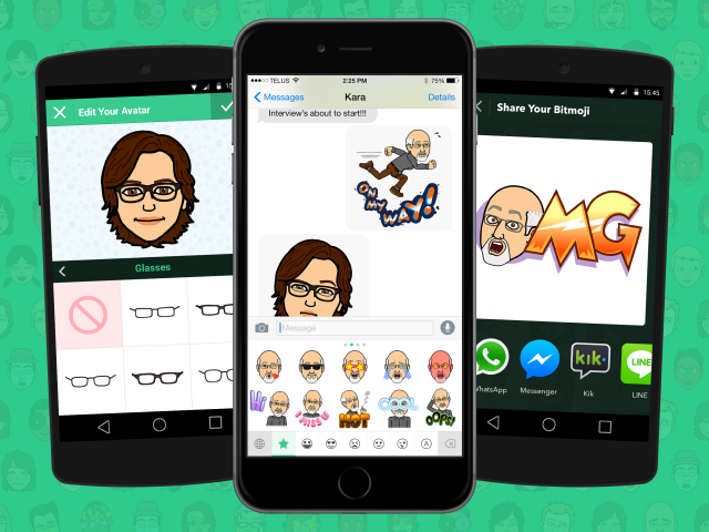 Snapchat Reportedly Buys Bitmoji App Bitstrips for $100 million