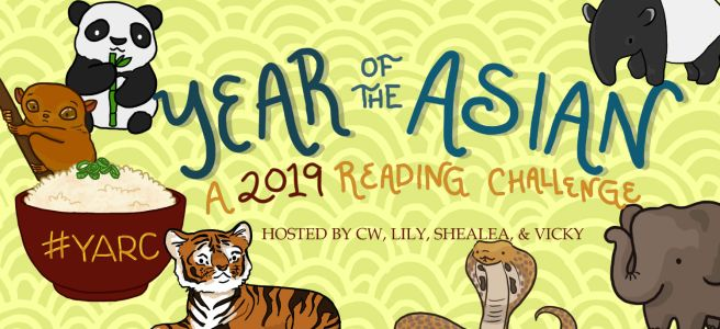 My Year of the Asian Reading Challenge 2019 TBR