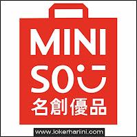 Lowongan kerja Miniso Semarang terbaru 2021