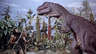 One Million Years BC dinosaurs stop motion Ray Harryhausen 1966