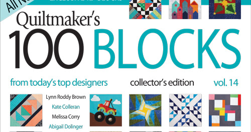 Quiltmaker's 100 Block Blog Tour