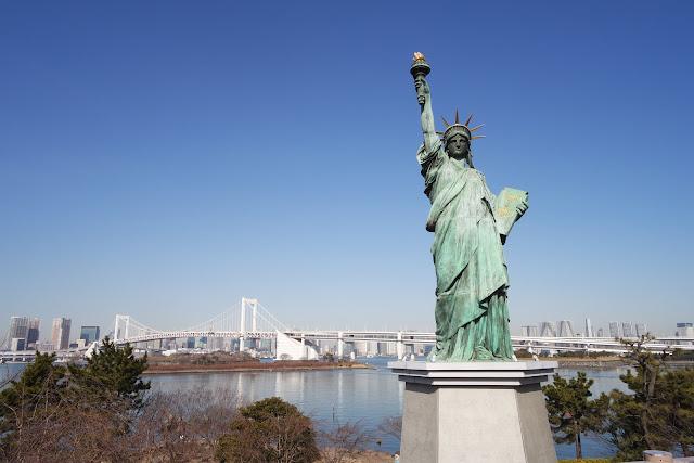 odaiba liberty statue