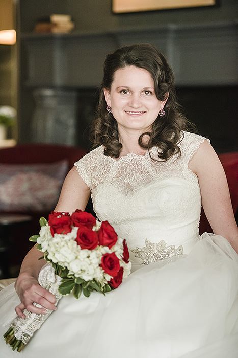 Wedding Portrait at Capitol Hill Hotel