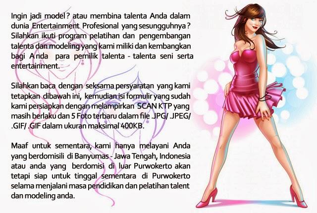 Pendaftaran Model / Talent