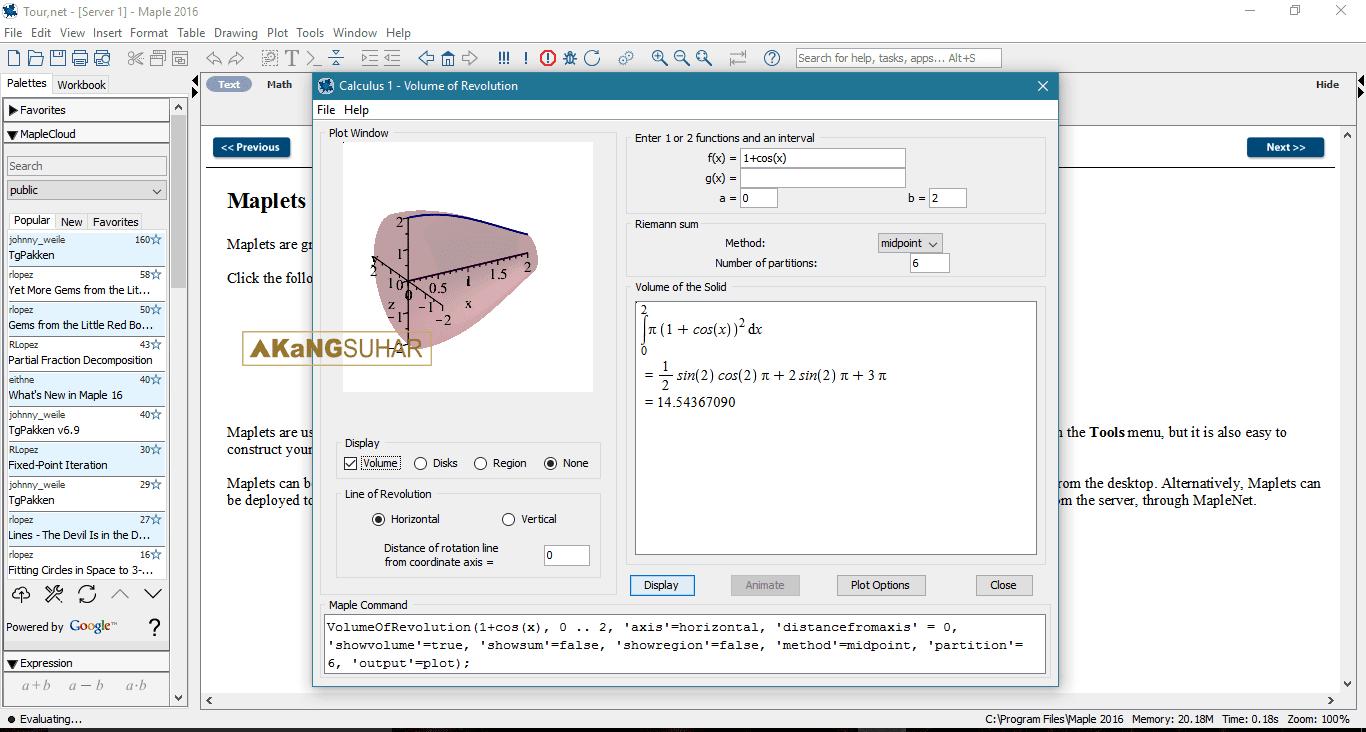 Download Maplesoft Maple 2016 Full version Terbaru - Latest Version