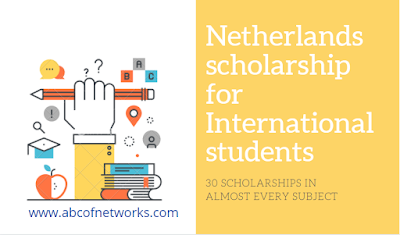 Netherlands scholarship for International students 2020