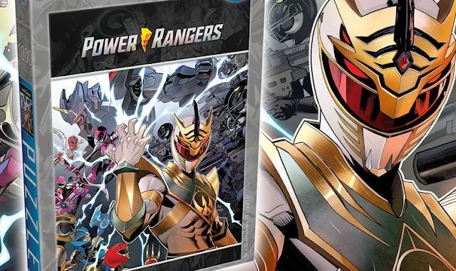 Quebra-Cabeças de Power Rangers pela Renegade Game Studios é revelado