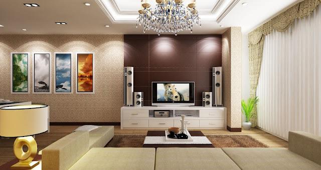 Thiết kế phòng khách căn hộ Vincity Đại Mỗ