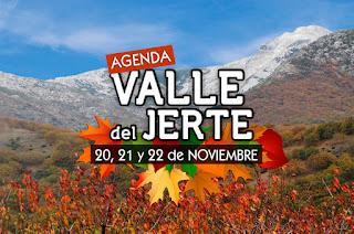 Eventos en el Valle del Jerte. AGENDA 20 a 22 de noviembre