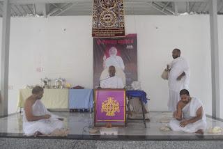 श्री मोहनखेड़ा महातीर्थ में द्वितीय आसोज मास की एकम को महामांगलिक का आयोजन हुआ