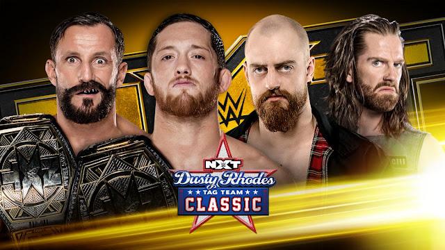 Definidas as semi-finais do Dusty Rhodes Tag Team Classic