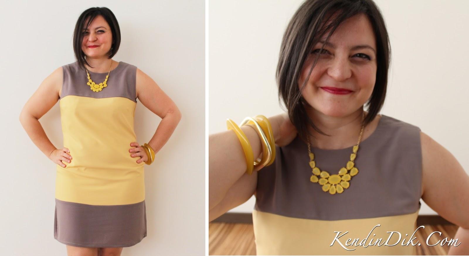 sarı elbiseler, sarı kahve elbise, yaz modası, sarı aksesuarlar, krep elbise