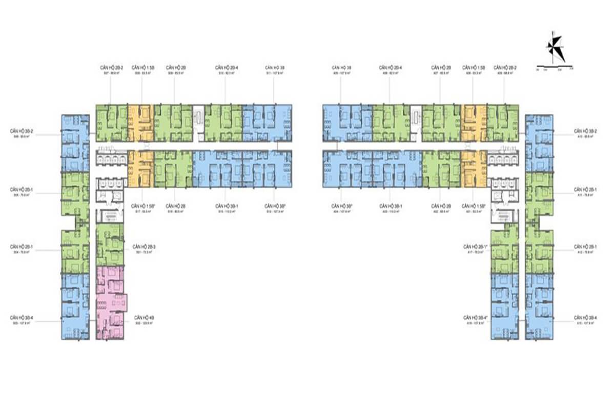 Chung cư Mipec Rubik 360 Xuân Thủy