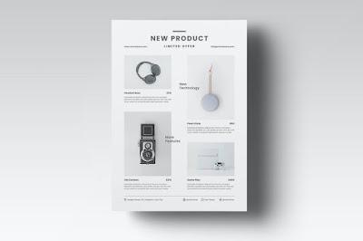 Contoh brosur penjualan produk