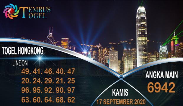 Nomor Akurat Togel Hongkong Kamis 17 September 2020