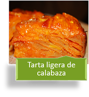 TARTA LIGERA DE CALABAZA