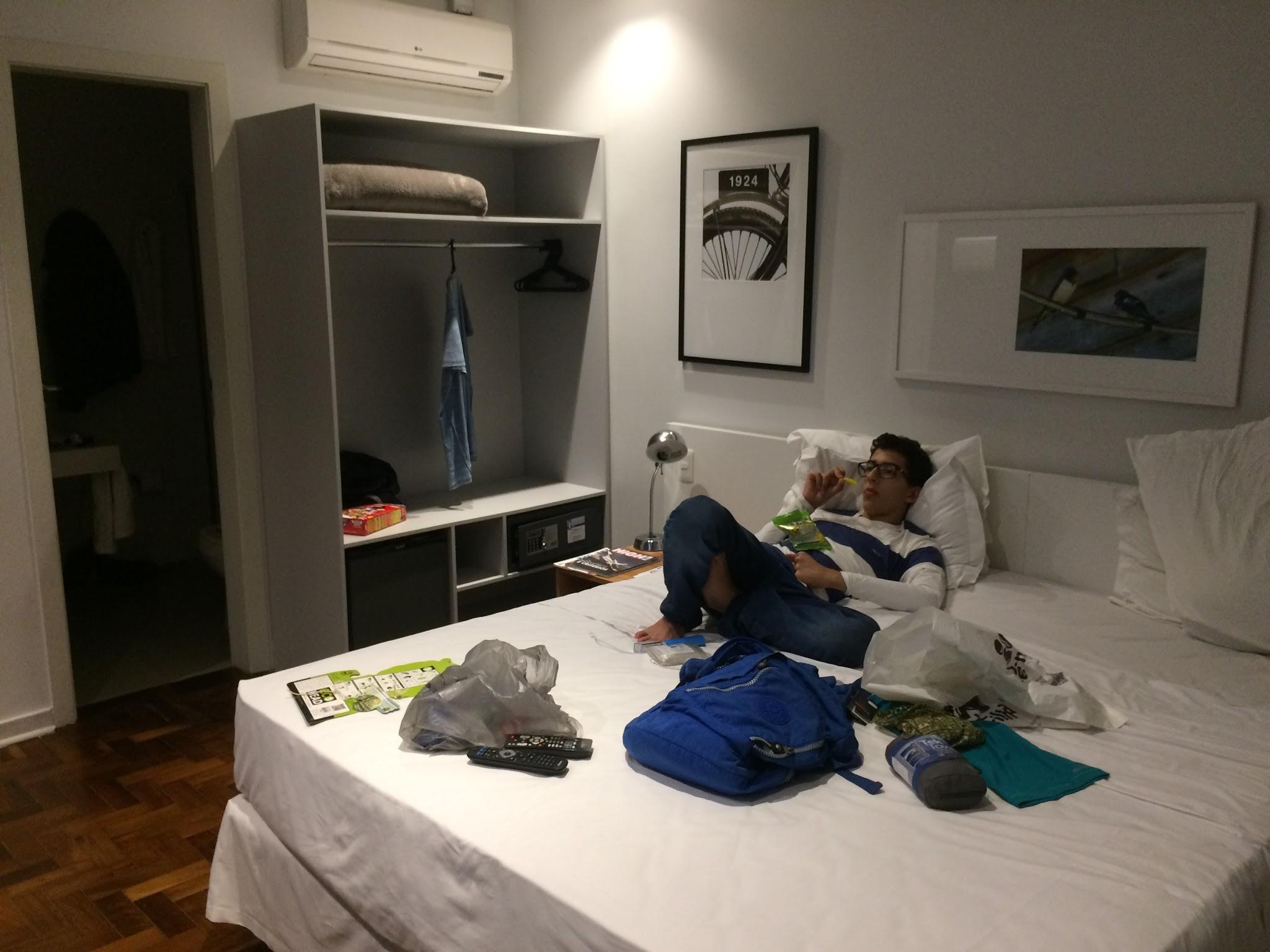 Quarto Hotel Bê