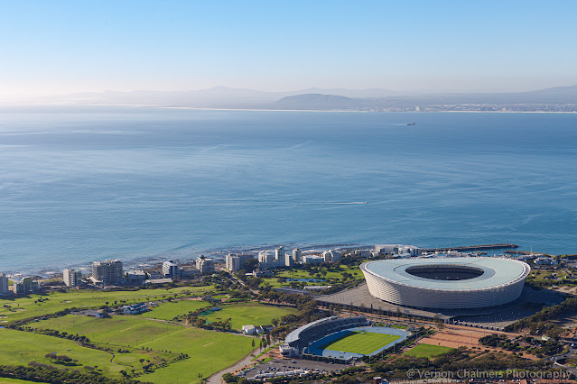 Cape Town Stadium Green Point view from Signal Hill Vernon Chalmers Photography